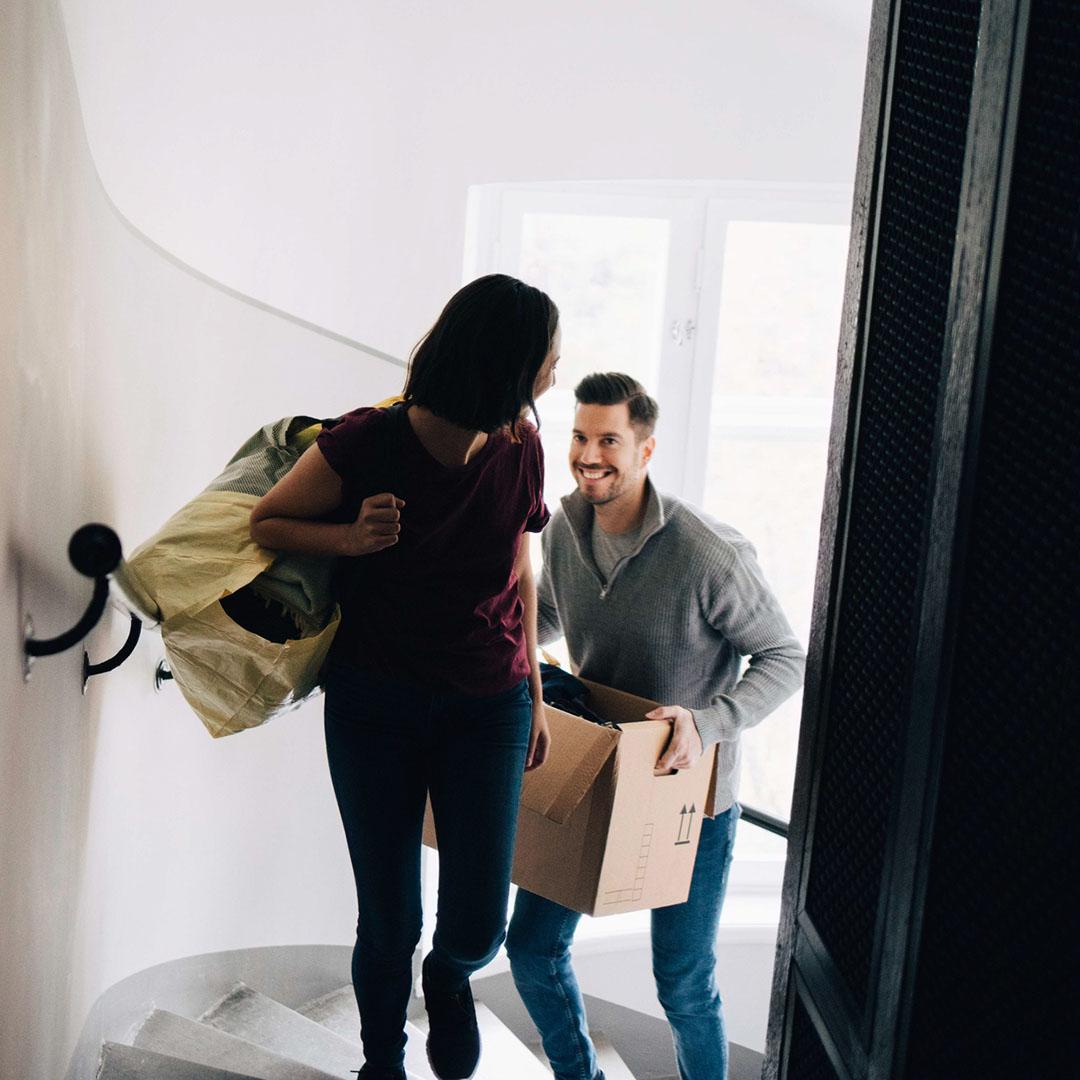 Ensimmäinen askel kohti uutta asuntoa on asuntolainahakemus