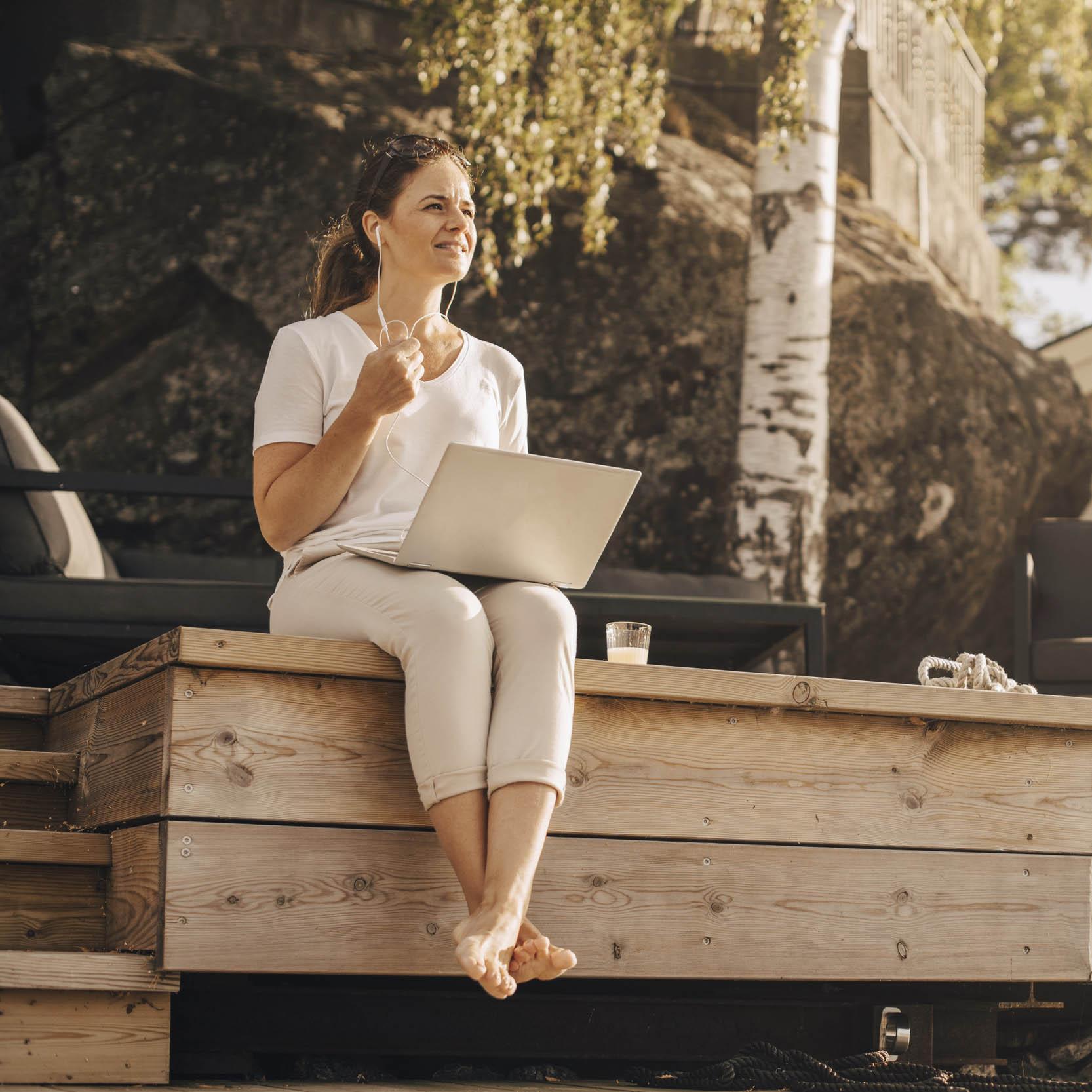 Ensimmäinen askel kohti unelmien loma-asuntoa on lainahakemus