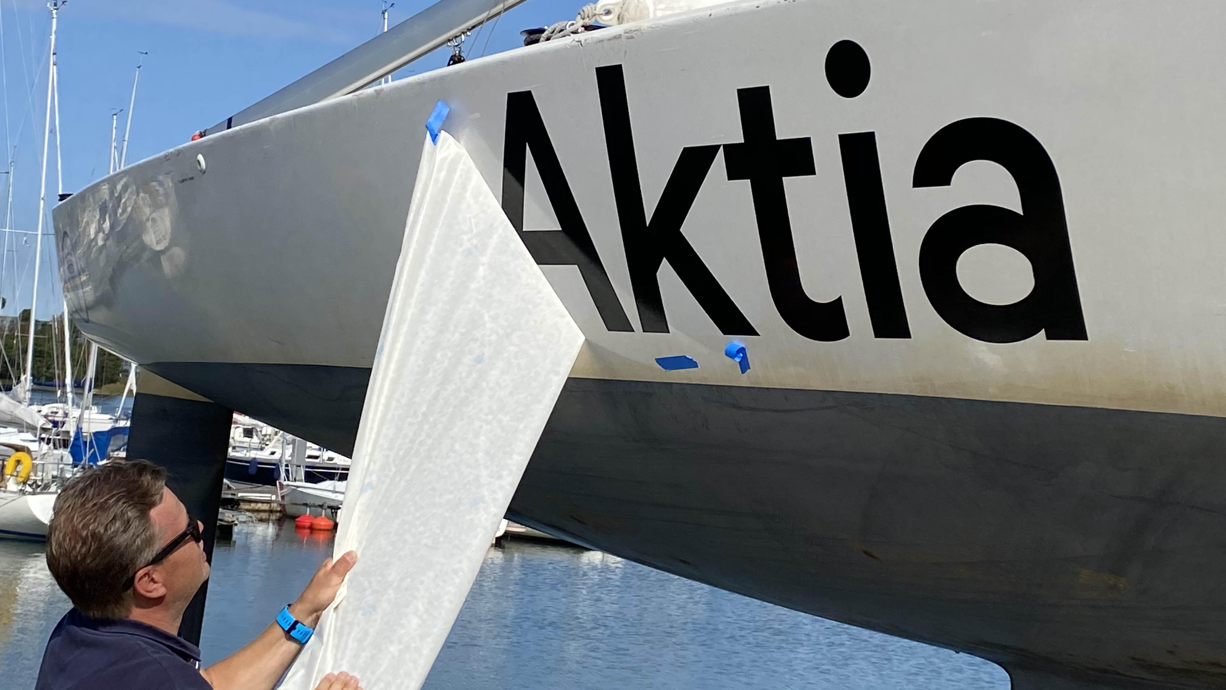 Aktia stöder de ungas möjligheter att segla